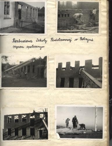 Rozbudowa szkoły w Połczynie